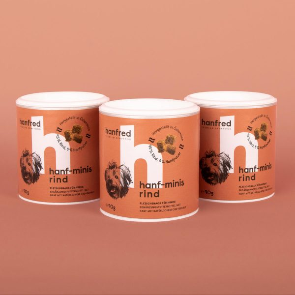 Hanfred Minis Rind 3er Pack