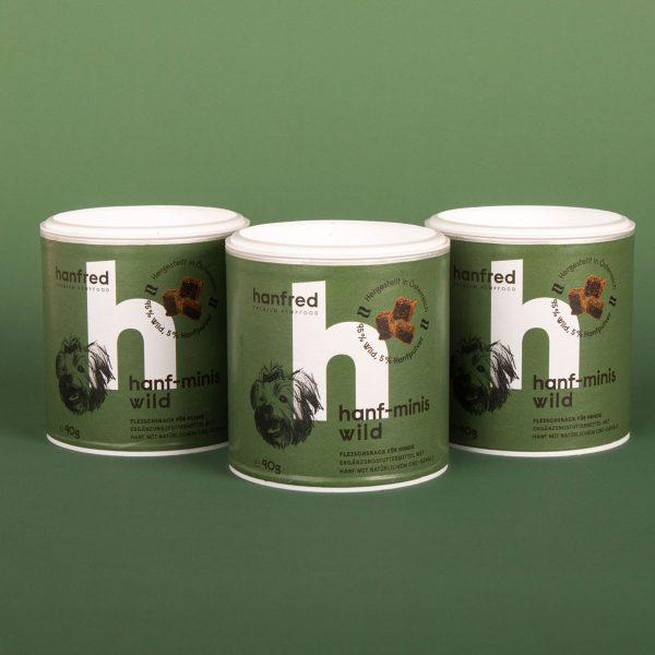 Hanfred Minis Wild 3er Pack